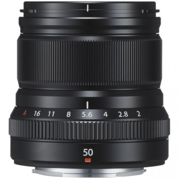Fujifilm XF 50mm f/2 R WR Lens Black