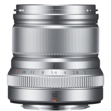 Fujifilm XF 50mm f/2 R WR Lens Sliver
