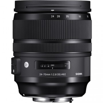 Sigma 24-70mm f/2.8 DG OS HSM Art Lens - Canon Fit
