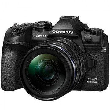 Olympus OM-D E-M1 Mark III Digital Camera with 12-40mm PRO Lens