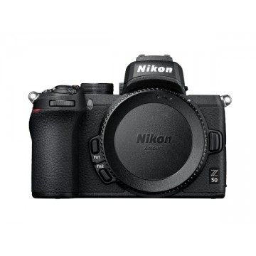 Nikon Z50 Digital Camera with FTZ Adapter