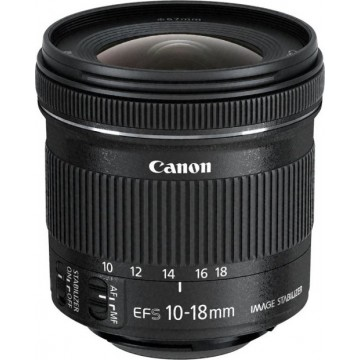 Canon 10-18mm f4.5-5.6 EF-S IS STM Lens