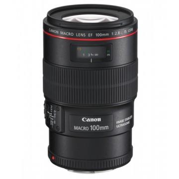 Canon 100mm f2.8L EF IS USM Macro Lens