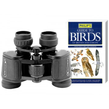 Celestron Upclose 7x35 Binocular (Birder's Starter Kit)