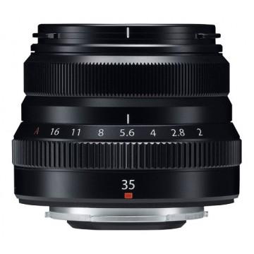 Fujifilm 35mm f2 R WR Fujinon Lens - Black