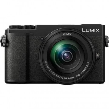 Panasonic Lumix GX9 Mirrorless Camera with 12-60mm Lens - Black