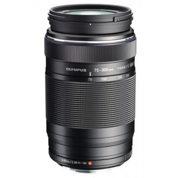 Olympus 75-300mm f4.8-6.7 II M.ZUIKO Digital ED Lens - Black