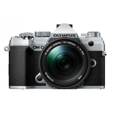 Olympus OM-D E-M5 Mark III Digital Camera with 14-150mm Lens - Silver