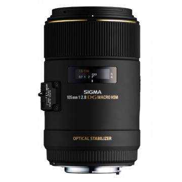Sigma Macro 105mm f2.8 DG OS HSM Lens Canon Fit
