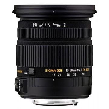 Sigma 17-50mm f2.8 EX DC OS HSM - Nikon Fit