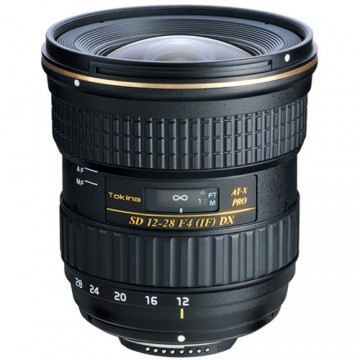 Tokina 12-28mm f/4.0 AT-X Pro APS-C Lens - Canon Fit