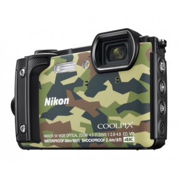 Nikon COOLPIX W300 Underwater Digital Camera Camouflage