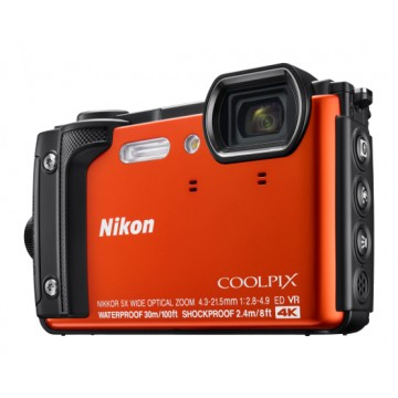 Nikon COOLPIX W300 Underwater Digital Camera Orange