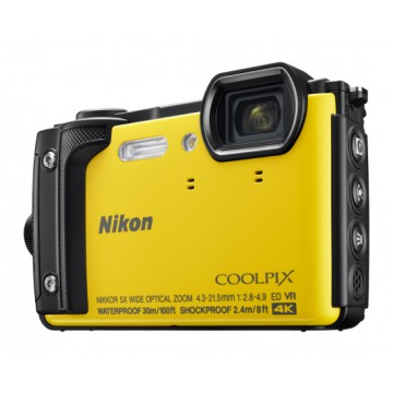 Nikon COOLPIX W300 Underwater Digital Camera Yellow