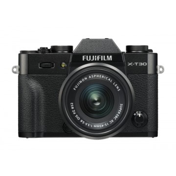 Fujifilm X-T30 Digital Camera with XC 15-45mm Lens - Black