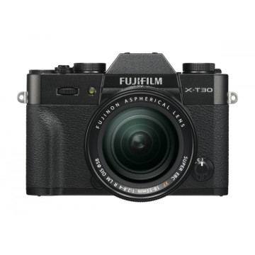Fujifilm X-T30 Digital Camera with XF 18-55mm Lens - Black