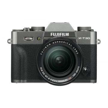 Fujifilm X-T30 Digital Camera with XF 18-55mm Lens - Charcoal