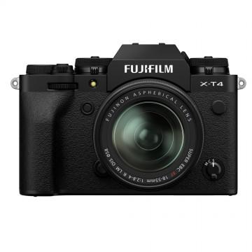 Fujifilm X-T4 Digital Camera with XF 18-55mm Lens - Black