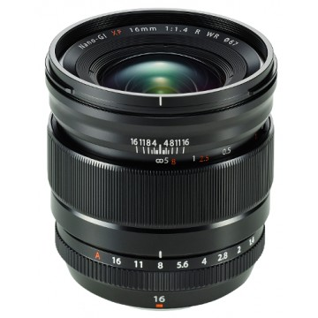 Fujifilm 16mm f1.4 R WR XF Fujinon Lens