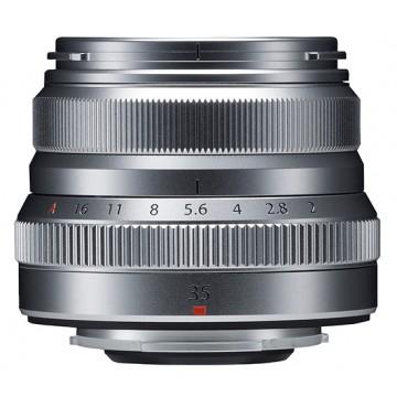 Fujifilm 35mm f2 R WR Fujinon Lens - Silver