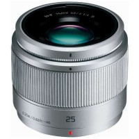 Panasonic Lumix G 25mm f/1.7 ASPH. Lens Silver