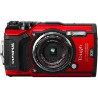 Olympus Stylus Tough TG-5 Underwater Camera - Red