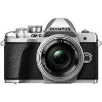 Olympus OM-D E-M10-Mark III Incl 14-42 EZ Lens - Silver