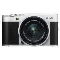 Fujifilm X-A5 Digital Camera with 15-45mm Lens - Silver