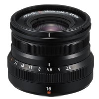 Fujifilm XF 16mm f2.8 R XR WR Lens - Black