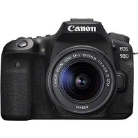 Canon EOS 90D Digital SLR Camera with 18-55mm IS STM Lens