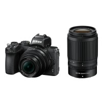 Nikon Z50 Digital Camera with 16-50mm and 50-250mm Lens