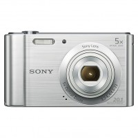 Sony CYBERSHOT W800 Compact Camera Silver