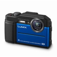 Panasonic Lumix FT7 Underwater Digital Camera - Blue