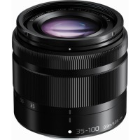 Panasonic LUMIX G VARIO 35-100mm f/4.0-5.6 ASPH. MEGA O.I.S. Lens Black
