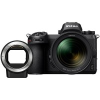 Nikon Z6 Mirrorless Digital Camera with 24-70mm  F/4 Lens and FTZ Mount Adapter Kit