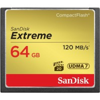 SanDisk Extreme 64GB 120MB/s Compact Flash Card