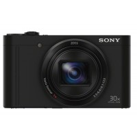 Sony CYBERSHOT WX-500 Compact Digital Camera - Black