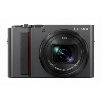 Panasonic Lumix TZ200 Compact Camera - Silver