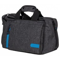 Dorr City Pro Messenger Photo Bag - XS Grey/Blue