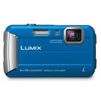 Panasonic LUMIX FT-30 Underwater Camera Blue