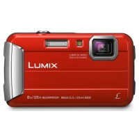 Panasonic LUMIX FT-30 Underwater Camera Red