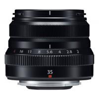 Fuji 35mm f2 R WR Fujinon Lens - Black