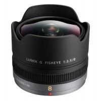 Panasonic 8mm Lumix f3.5 G Fisheye Lens