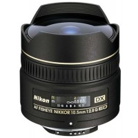 Nikon 10.5mm f2.8 G IF-ED AF DX Fisheye Lens