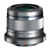 Olympus 45mm f1.8 M.ZUIKO Digital Lens - Silver
