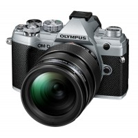 Olympus OM-D E-M5 Mark III Digital Camera Pro Kit 12-40mm Lens - Silver