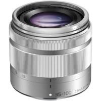 Panasonic LUMIX G VARIO 35-100mm f/4.0-5.6 ASPH. MEGA O.I.S. Lens Silver