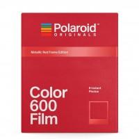 Polaroid Original Color Film for 600 (Metallic Red Frames)
