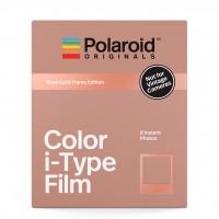 Polaroid Original Color i-Type Film (Rose Gold Frames)