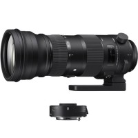 Sigma 150-600mm f/5-6.3 DG OS HSM Sports Lens and TC-1401 1.4x Teleconverter Kit for Canon EF